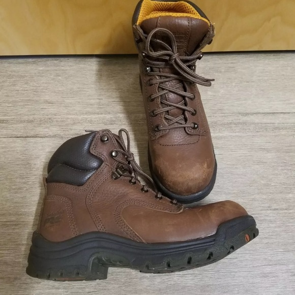 Women's Timberland Pro Titan Alloy Toe Work Boots